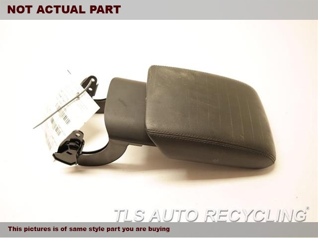 2010 Audi S5 AUDI Console front and Rear. 8K0864207H25D  BLACK CENTER LEATHER CONSOILE LID