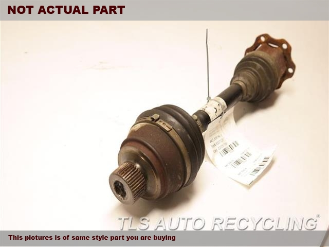2008 Audi S5 AUDI Axle Shaft. FRONT AXLE, (4.2L), W/O HEAVY DUTY
