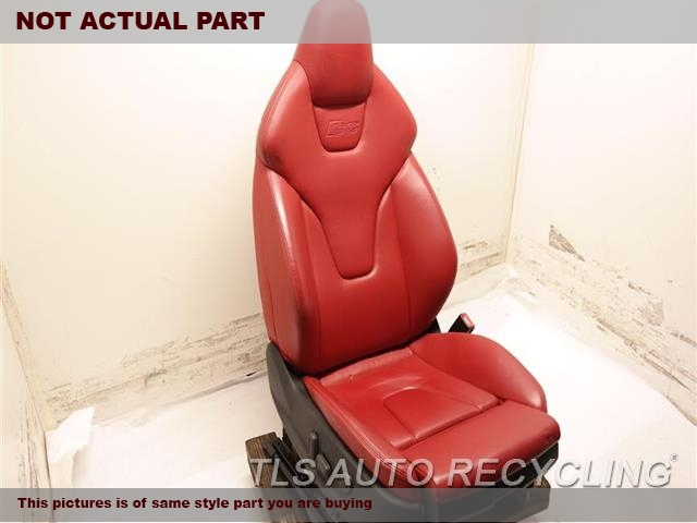2008 Audi S5 AUDI Seat, Front. RH,BLK,LEA,(ELECTRIC), (LEATHER), S