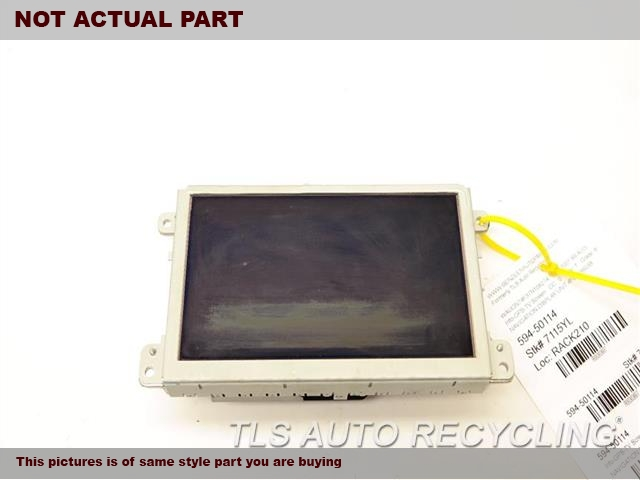 2008 Audi Q7 AUDI Navigation GPS Screen. DISPLAY SCREEN 8T0919603C