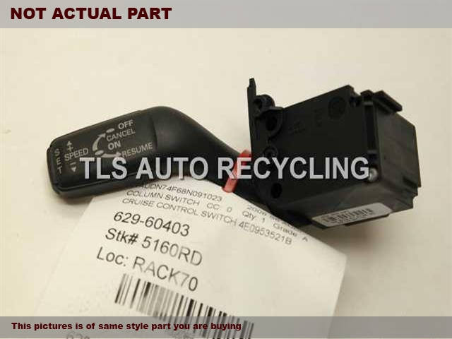 2007 Audi A8 AUDI Column Switch. CRUISE CONTROL SWITCH 4E0953521B