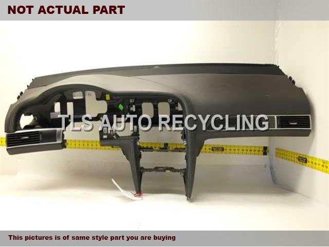 2008 Audi A6 AUDI Dash board. BLACK DASH PANEL 4F1857041R24A