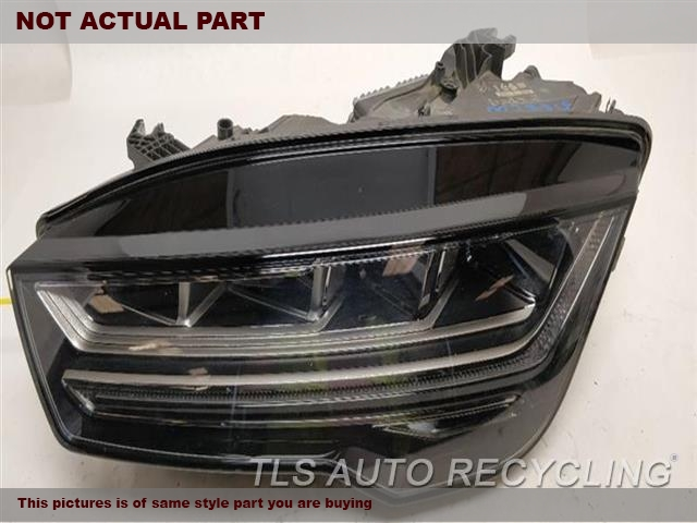 2017 Audi A7 AUDI Headlamp Assembly. SMALL SCRATCH ON THE TOP OF THE LENSDRIVER HEADLIGHT, LED