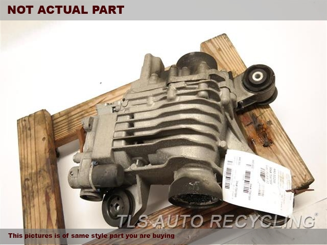 2008 Audi Tt Audi Rear Differential  CHECK ID