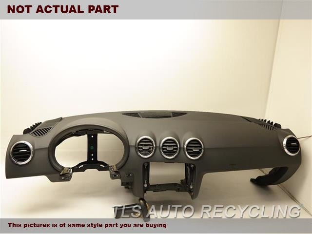 2010 Audi TT AUDI Dash board. BLK,BLACK DASH PANEL