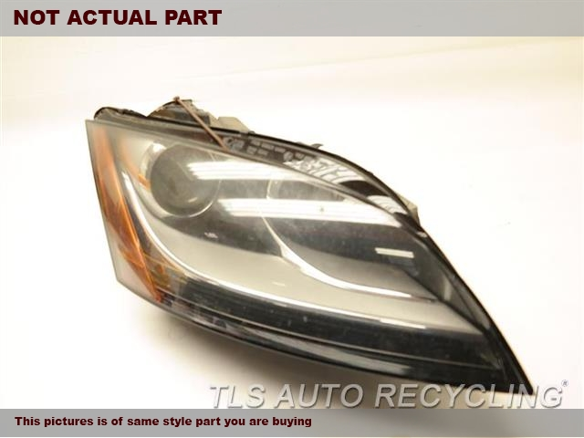 2008 Audi Tt Audi Headlamp Assembly NEED BUFF RH,XENON (HID), HEADLAMP