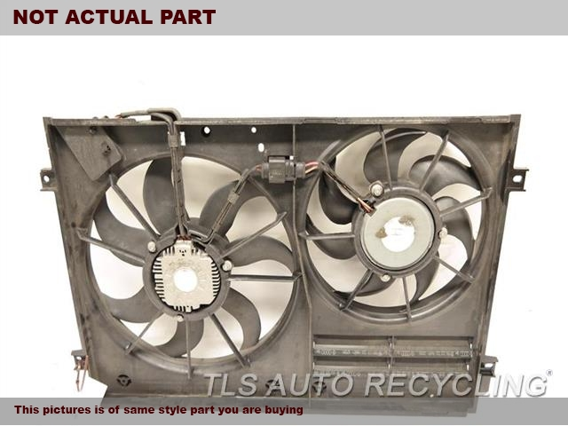 2010 Audi TT AUDI Rad Cond Fan Assy. FAN ASSEMBLY