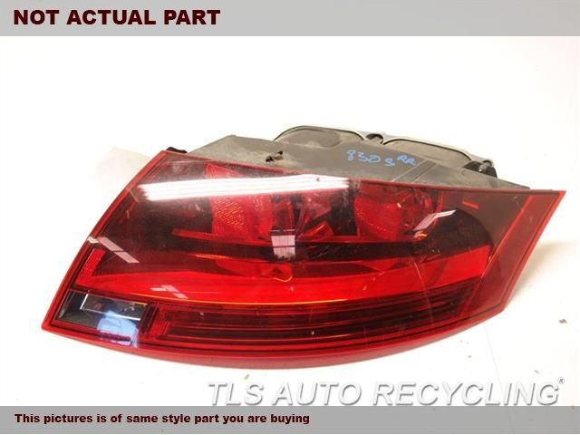 2008 Audi TT AUDI Tail Lamp. RH,RED HOUSING COLOR (OPT 8SD), R.