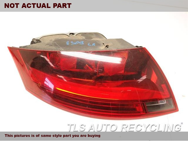 2008 Audi TT AUDI Tail Lamp. LH,RED HOUSING COLOR (OPT 8SD), L.