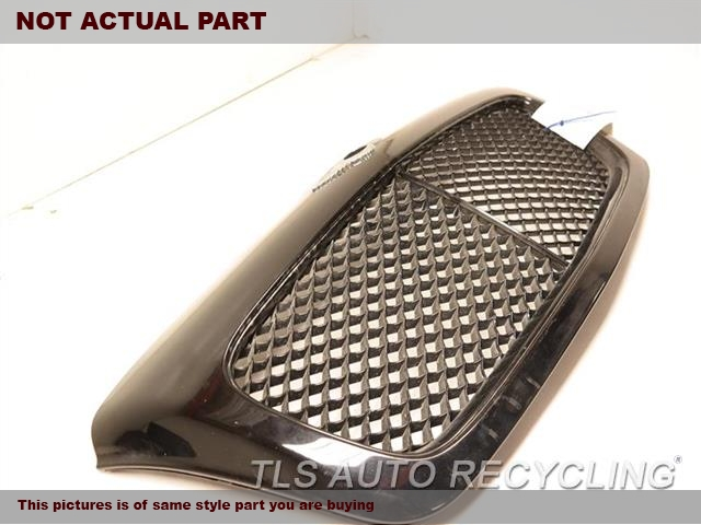 2006 BENTLEY CONT-GT Grille. BLACK DRIVER LOWER GRILLE 3W5807683