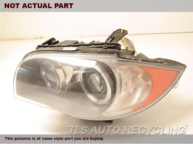 2008 BMW 135I Headlamp Assembly. LH,(XENON, HID, ADAPTIVE HEADLAMPS)