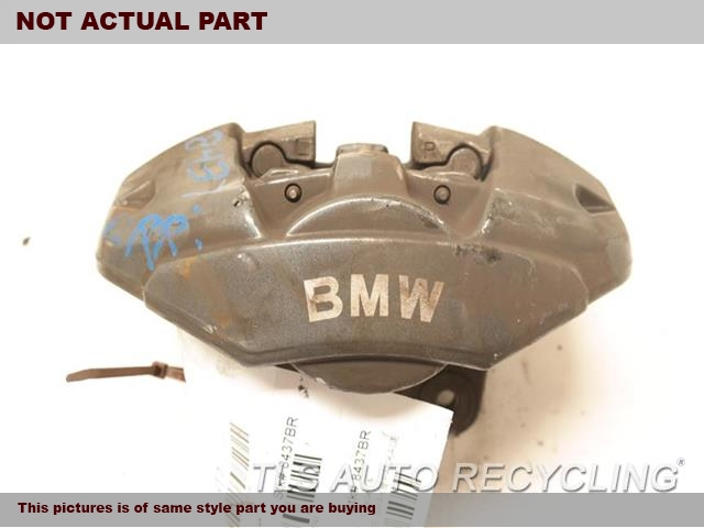 2008 BMW 135I Caliper. LH,REAR, PERFORMANCE BRAKE PACKAGE