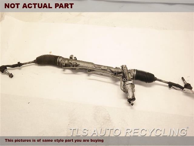 2007 BMW 335I Steering Gear Rack. POWER RACK AND PINION, RWD, W/O ACT