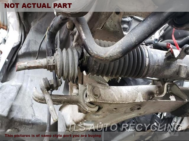 2008 BMW 135I Steering Gear Rack. POWER RACK AND PINION