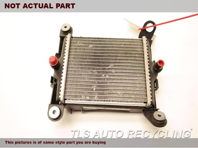 2013 Bmw 328i Radiator  N20 ENGINE, AUXILIARY LH FENDER