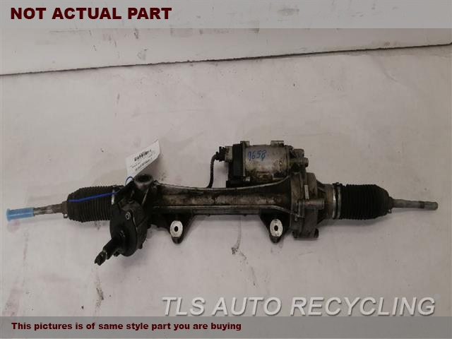 2017 BMW 330I Steering Gear Rack. POWER RACK AND PINION, (ELECTRIC),