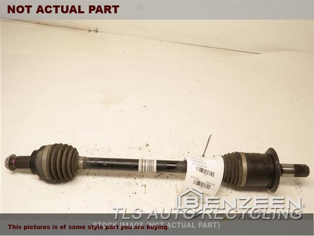 LH,REAR AXLE, 4 DR (GRAN COUPE), RW