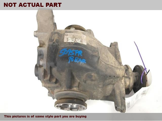 2007 BMW 328I Rear differential. CPE, REAR, RWD, AT (3.73 RATIO)