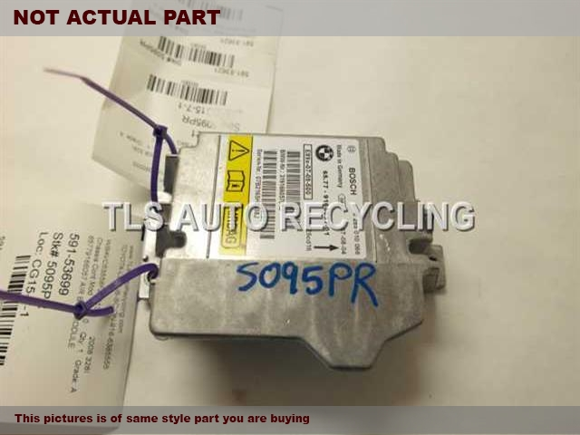2008 BMW 335I Chassis Cont Mod. 65779166057 AIR BAG MODULE