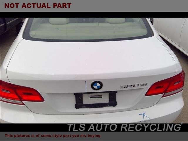 2007 BMW 335I Deck lid. DENTS 000,BLK,CPE