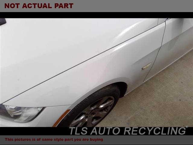 2007 BMW 328I Fender. FRONT EDGE HAS TOUCH UP PAINT GRAY DRIVER SIDE FENDER