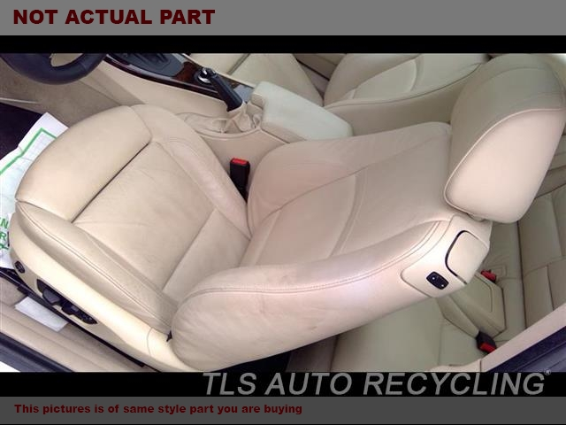 2007 BMW 328I Seat, Front. LH,TAN,LEA,CPE, LEATHER, ELECTRIC,