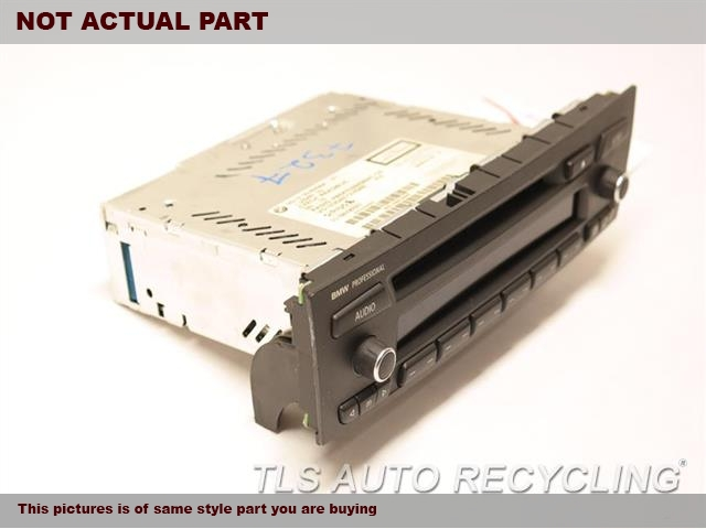 2011 BMW Z4 Radio Audio / Amp. AM-FM-CD RECEIVER, SATELLITE
