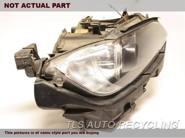 2007 BMW 335I Headlamp Assembly. HEADLAMP PLASTIC COVER LOWER SECRTION HAS ONE TAB DAMAGE PASSENGER HID HEADLAMP COMPLETE