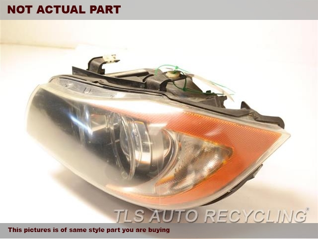 2007 BMW 335I Headlamp Assembly. OUTER BRACKET LOWER SECTION HAS DAMAGE TAB LH,SDN, XENON (HID), ADAPTIVE