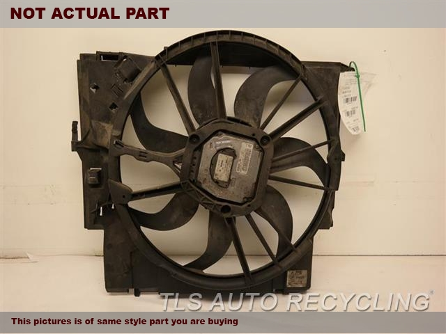 2007 BMW 335I Rad Cond Fan Assy. FAN ASSEMBLY, (RADIATOR), (600 WATT