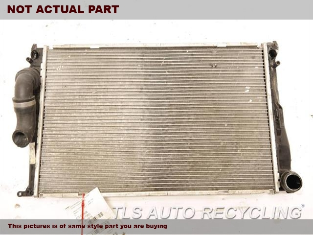 2008 BMW 135I Radiator. AT