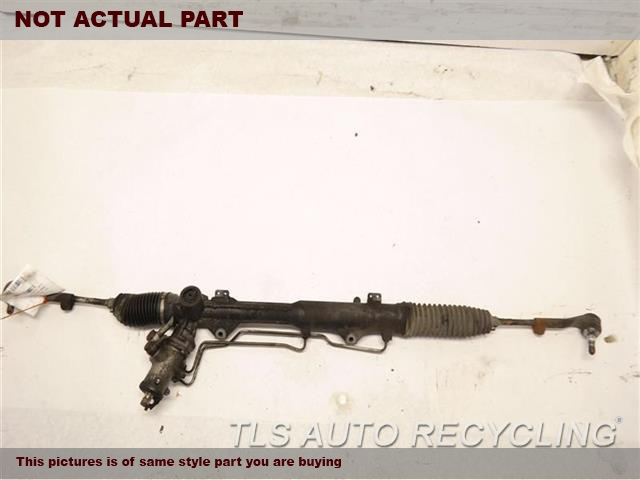 2007 BMW 328I Steering Gear Rack. POWER RACK AND PINION, RWD, W/O ACT