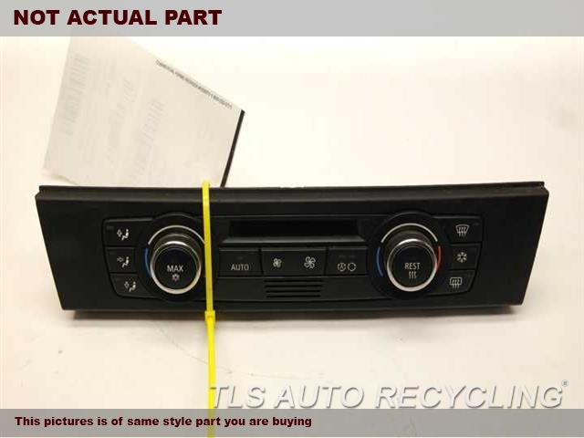 2007 BMW 335I Temp Control Unit. BLK,AUTOMATIC TEMPERATURE CONTROL,