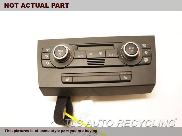 2008 BMW 135I Temp Control Unit. AUTOMATIC TEMPERATURE CONTROL
