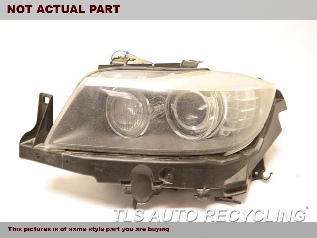 2011 BMW 335I Headlamp Assembly. 2UPPER TAB BROKENLH,335D,SDN, XENON (HID), ADAPTIVE