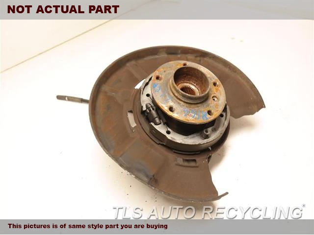 2007 BMW 335I rear nuckle / stub axle. LH