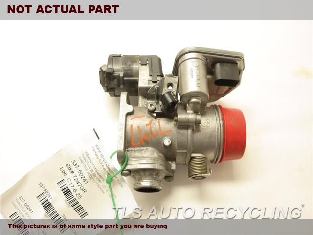 2011 BMW 335I Throttle Body Assy. (3.0L), DIESEL (TWIN TURBO)