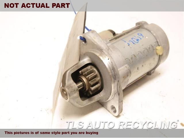 2012 BMW X3 Starter Motor. AUTOMATIC ENGINE STOP AND START