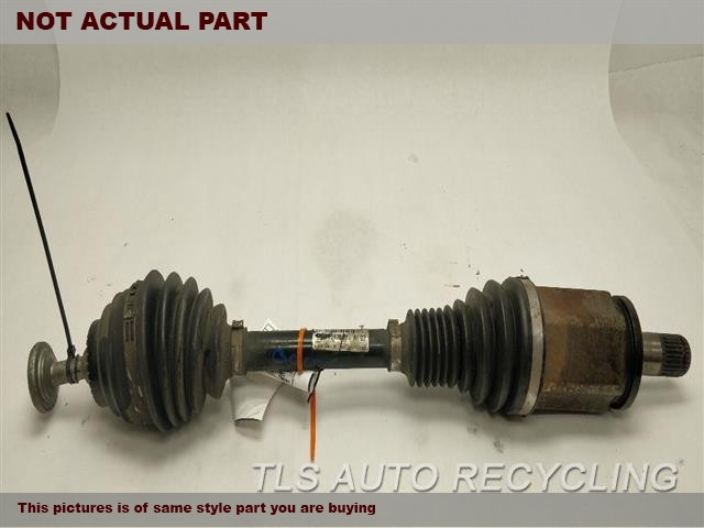 LH,FRONT AXLE, SDN, L.
