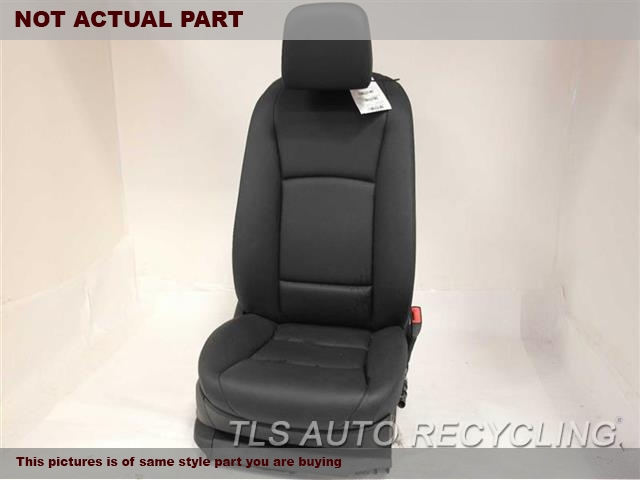 2012 BMW 550I Seat, Front. 52107293497 52107230648 52107236827BLACK PASSENGER FRONT LEATHER SEAT
