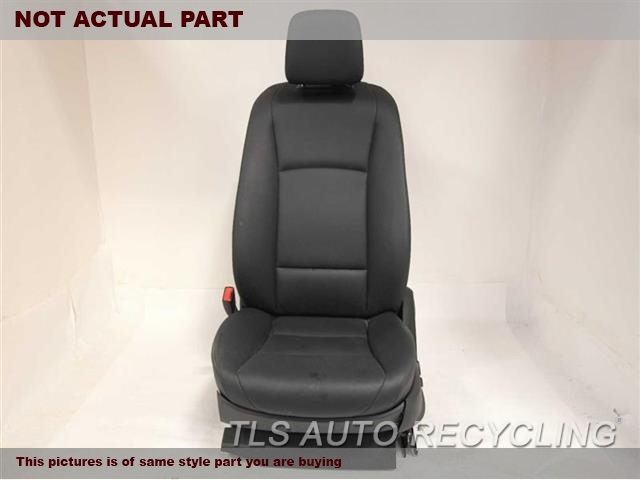 2012 BMW 550I Seat, Front.  52107260348 52107230648 52107250715BLACK DRIVER FRONT LEATHER SEAT