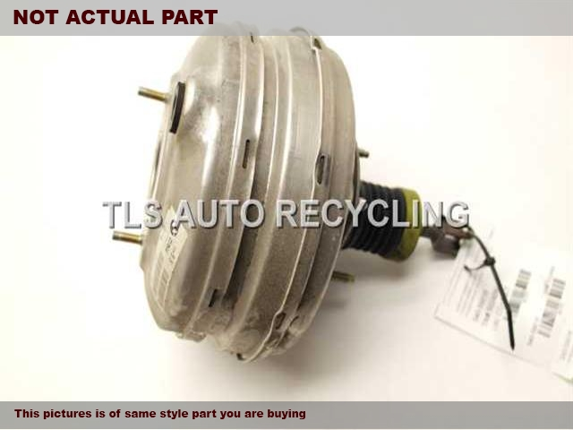 2005 BMW 525I Brake Booster. POWER BRAKE BOOSTER 34336784972