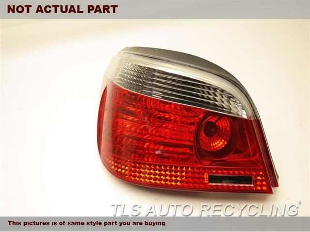 2005 BMW 525I Tail Lamp. DRIVER TAIL LAMP 15823703