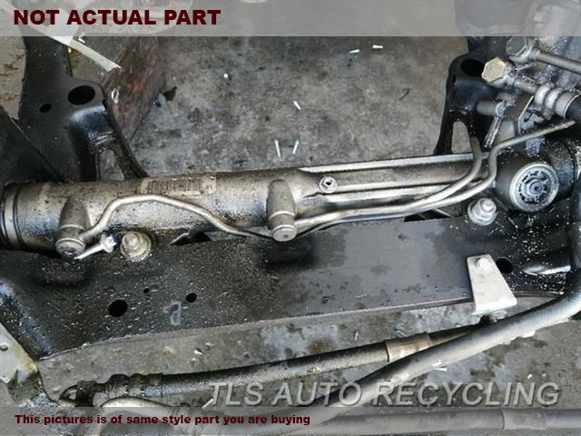 2008 BMW 535I Steering Gear Rack. POWER RACK AND PINION, XI (AWD)