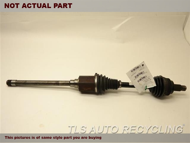 2008 BMW 535I Axle Shaft. RH,FRONT AXLE, (AWD), R.
