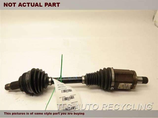 2008 BMW 535I Axle Shaft. LH,FRONT AXLE, (AWD), L.