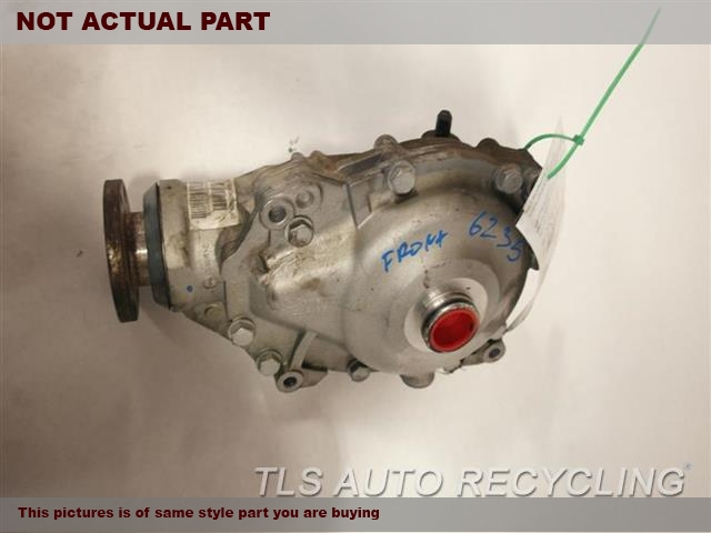 2008 BMW 535I Rear differential. XI (AWD), FRONT, AT (3.46 RATIO)