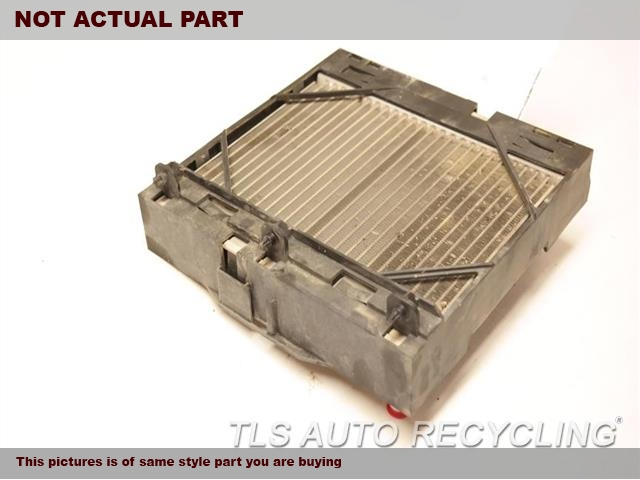 2012 BMW 535I Radiator. AUXILIARY (LH FENDER MOUNTED), AT