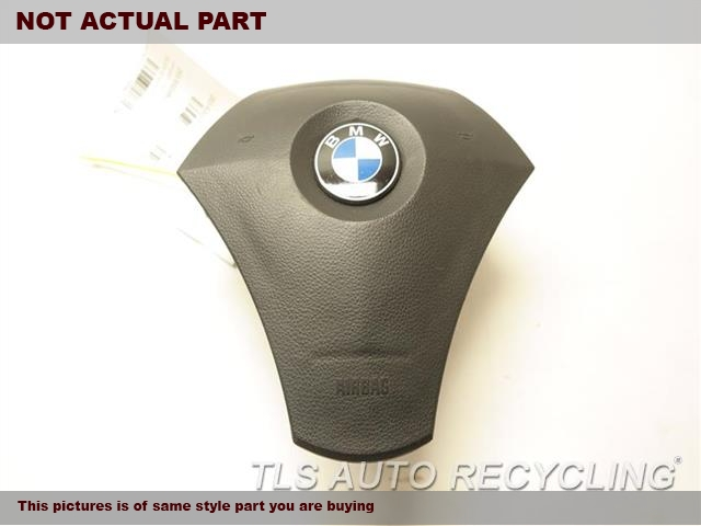 2005 BMW 525I Air Bag. 32346776425BLACK STEERING WHEEL AIR BAG