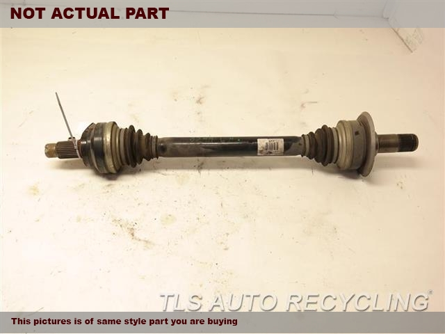 2012 BMW 550I Axle Shaft. DRIVER REAR AXLE SHAFT 33207647027